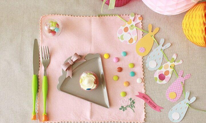 La mia mini tavola di Pasqua